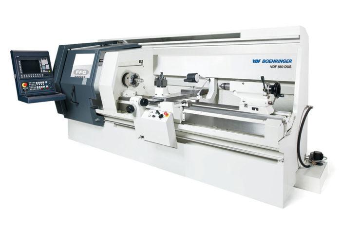 Maschinenpark CNC-Fertigung Hutterli AG Böhringer-DUS-560