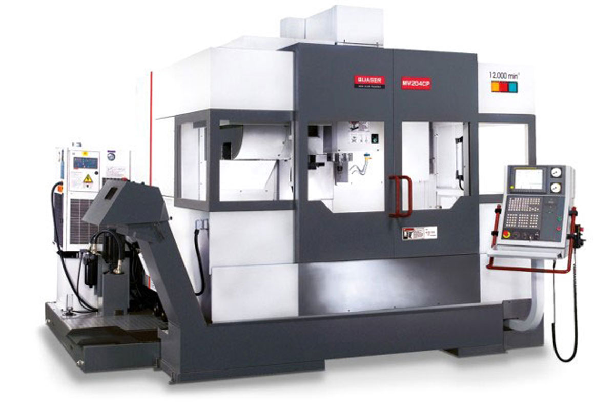 Maschinenpark CNC-Fertigung Hutterli AG Quaser-204-CP