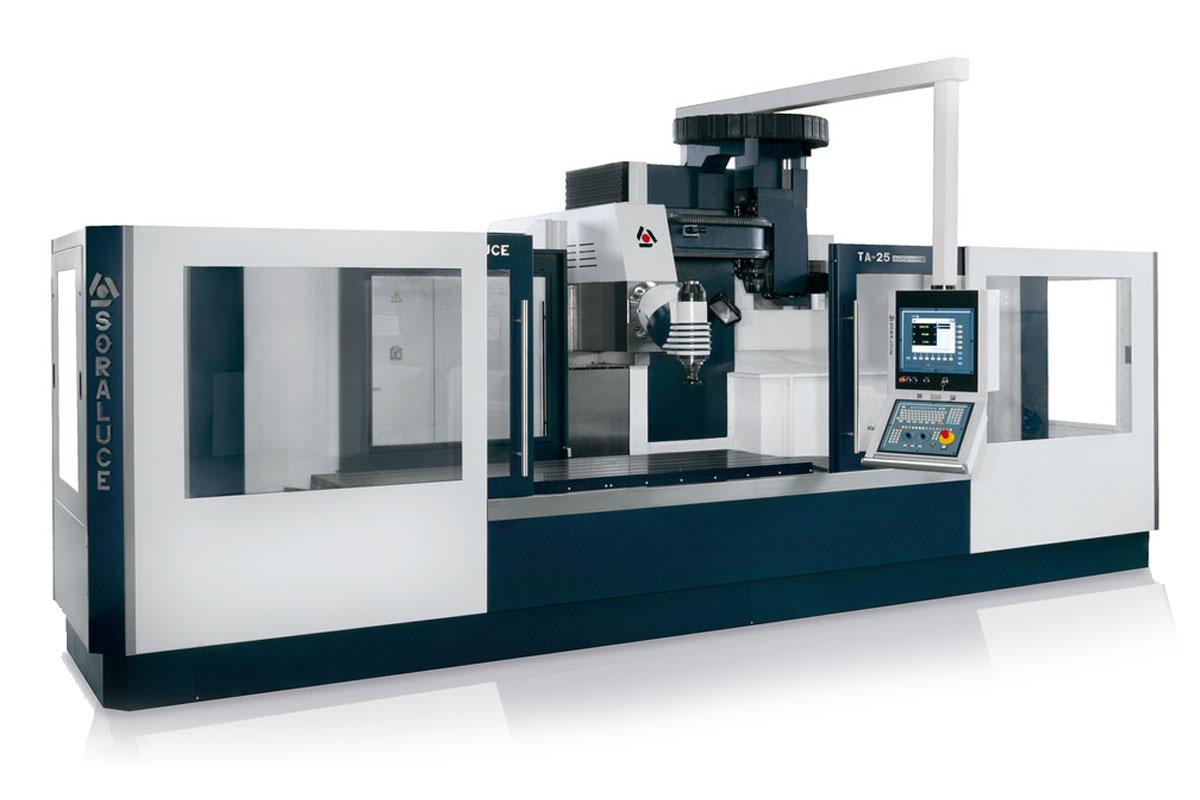Maschinenpark CNC-Fertigung Hutterli AG SORALUCE-TA25