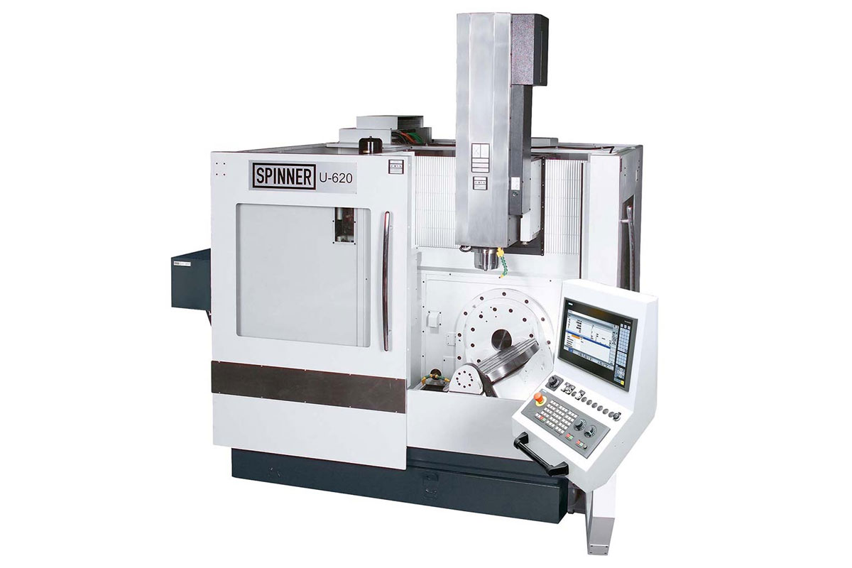 Maschinenpark CNC-Fertigung Hutterli AG Spinner-U620