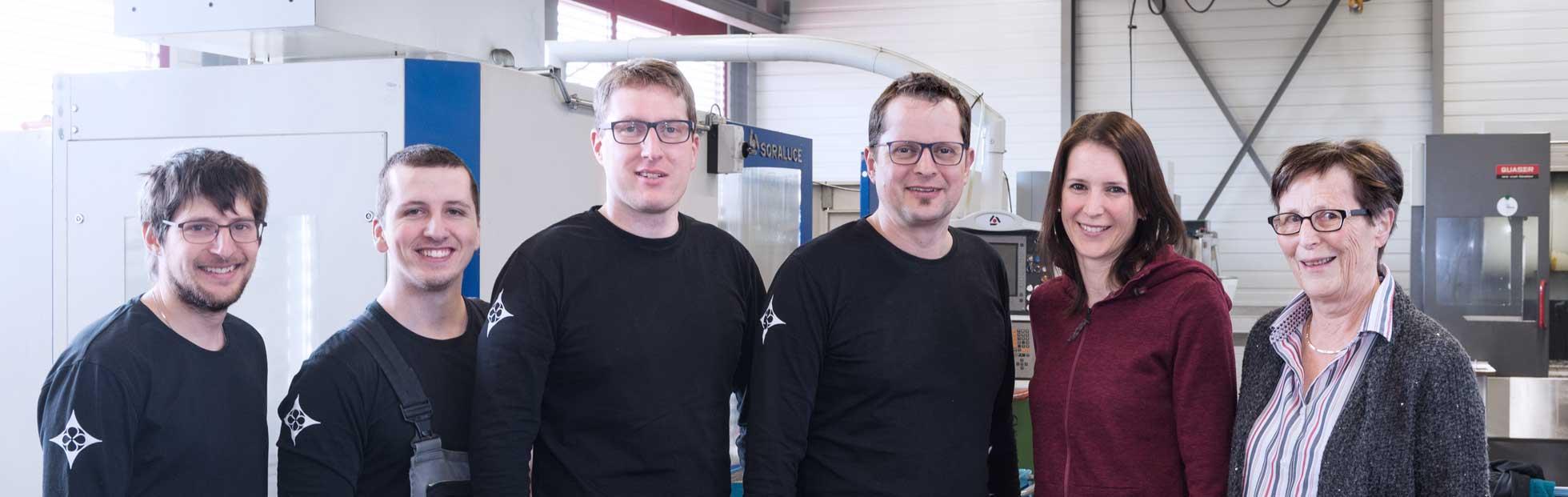 CNC-Fertigung Team Hutterli AG